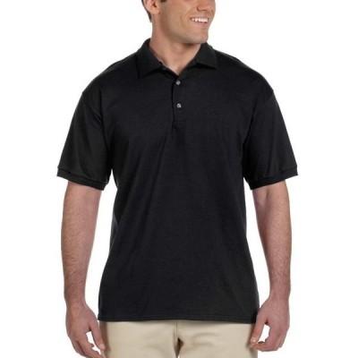 メンズ 衣類 ポロシャツ Gildan Men's Ultra Cotton Jersey Polo Black Medium