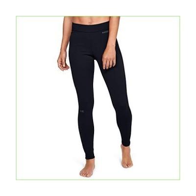 Under Armour Women's Base Legging 2.0, Black//Pitch Gray, Small「並行輸入品」