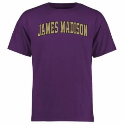 Fanatics Branded ファナティクス ブランド スポーツ用品  James Madison Dukes Purple Everyday T-Shirt