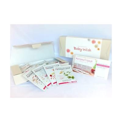Baby Wish 妊娠中のママとおなかの赤ちゃんへの贈りもの マタニティスープギフト14食セット(4種類スープ)葉酸・鉄分・カルシウム配合 妊婦 お