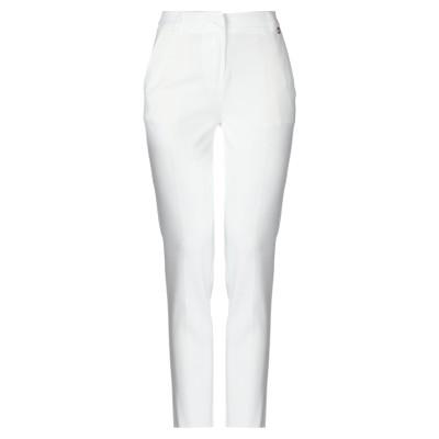 レリッシュ RELISH パンツ ホワイト 40 ポリエステル 93% / ポリウレタン 7% パンツ