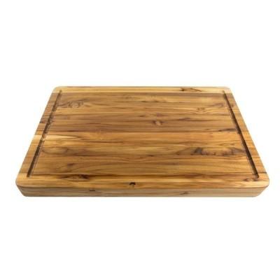 リバーシブル カッティングボード まな板 天然木 木製 チーク
