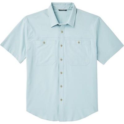 フィルソン シャツ メンズ トップス Filson Men's Ultra-Light SS Shirt Gulf Blue
