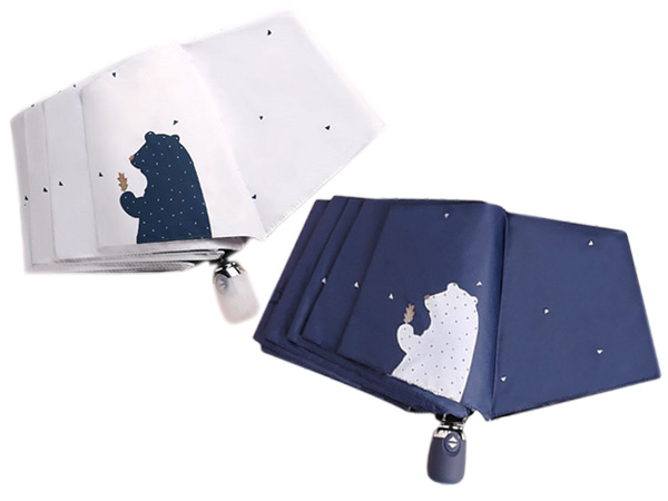 CUBESTORE~北極熊/抗UV快乾傘/自動三折傘(1支入) 款式可選【D850016】