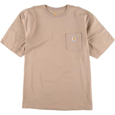 カーハート Carhartt ワンポイントロゴポケットTシャツ メンズXXL /eaa154405