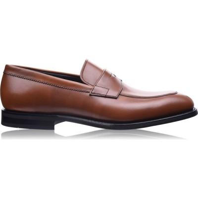 チャーチ CHURCHS メンズ ローファー シューズ・靴 Parham Mocc Loafers Walnut FAAR