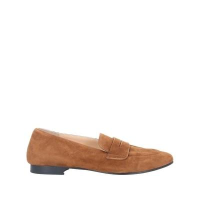 LUCA VALENTINI レディース モカシン 靴 ブラウン
