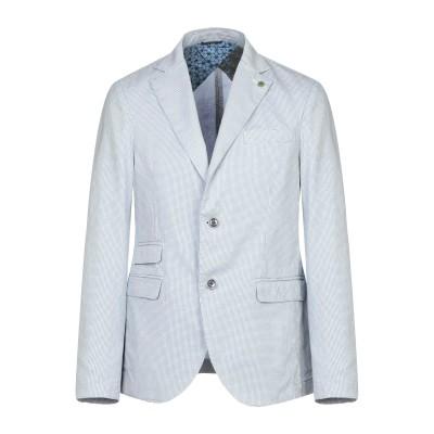 アティピコ AT.P.CO テーラードジャケット アジュールブルー 52 コットン 75% / 麻 25% テーラードジャケット