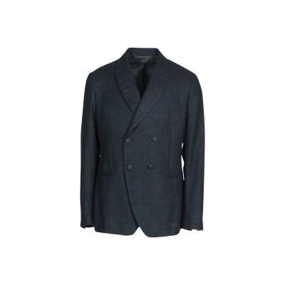 ジョルジオ アルマーニ GIORGIO ARMANI テーラードジャケット ダークブルー 56 58% 毛(アルパカ) 27% ウール 15% ナイ