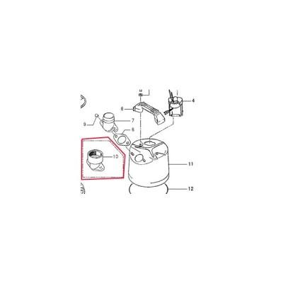 工事用排水ポンプ自動運転形 LB-480A用部品  (10)内ネジホースカップリング 50mm 鶴見製作所