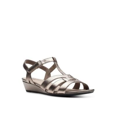クラークス サンダル シューズ レディース Collection Women's Abigail Daisy Dress Sandals Metallic Multi Leather