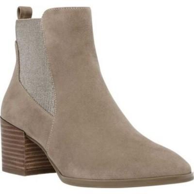 アン クライン Anne Klein レディース ブーツ チェルシーブーツ シューズ・靴 Parson Chelsea Boot Metallic Taupe Suede