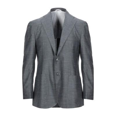 サルトリオ SARTORIO テーラードジャケット グレー 48 ウール 50% / シルク 30% / 麻 20% テーラードジャケット
