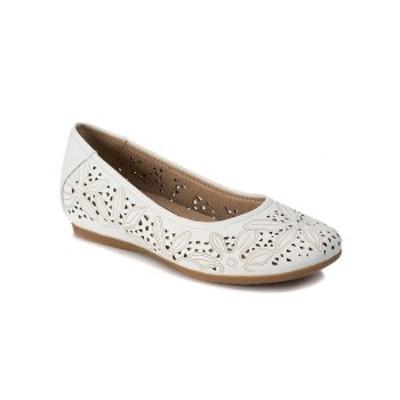 ベアトラップス レディース サンダル シューズ Mariah Comfort Flat Shoe White