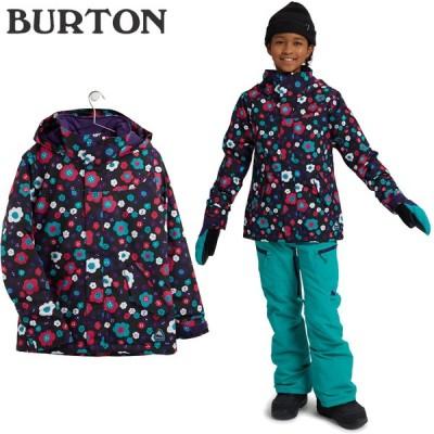 バートン ウェア ジャケット 20-21 BURTON GIRLS' ELODIE JACKET Flower Power KIDS' スノーボード キッズ 子供 日本正規品