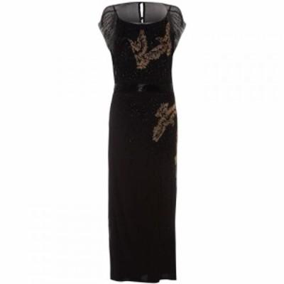 フェイズ エイト Phase Eight レディース ワンピース ワンピース・ドレス Morina Beaded Bird Dress Black