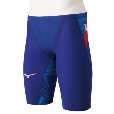 ミズノ 競泳用GX・SONIC V MR ハーフスパッツ[メンズ] 20リフレックスブルー S スイム 競泳水着 GX・SONIC5 N2MB0502