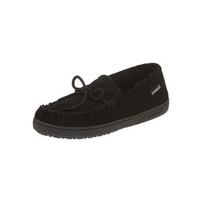 [Bearpaw] Moc II Men窶冱 Slippers  12M  Black