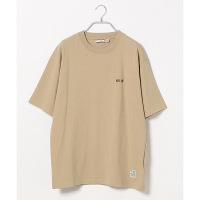 tシャツ Tシャツ USAコットンワンポイント刺繍TEE