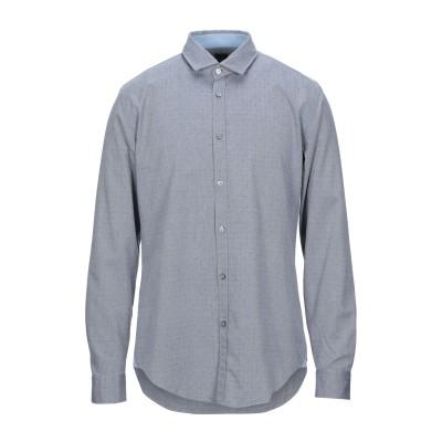 BOSS HUGO BOSS シャツ ダークブルー XS コットン 100% シャツ
