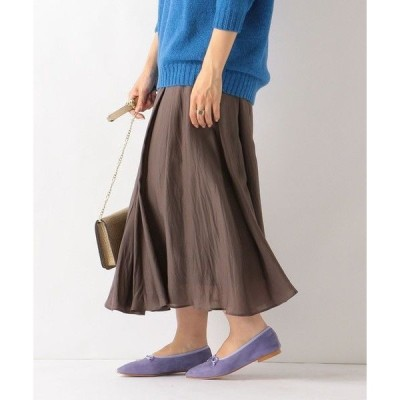 SHIPS for women / シップスウィメン SHIPS any:  ドレープロングスカート
