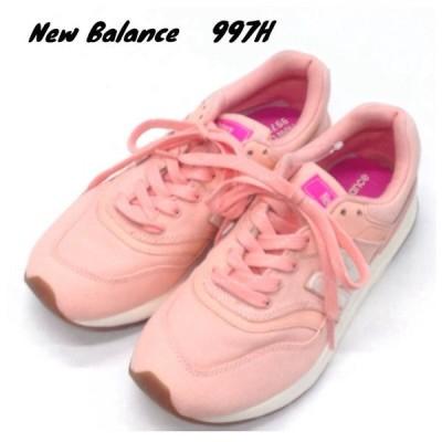 【中古】【送料無料】ニューバランス New Balance スニーカー CW997HDE ピンク レディース サイズ24cm