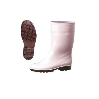 4979058543158 ミドリ安全 ハイグリップ長靴 25.5cm ピンク HG2000N
