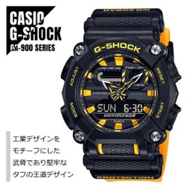 CASIO カシオ G-SHOCK Gショック GA-900シリーズ アナデジ GA-900A-1A9 工業デザイン ブラック×イエロー 腕時計 メンズ