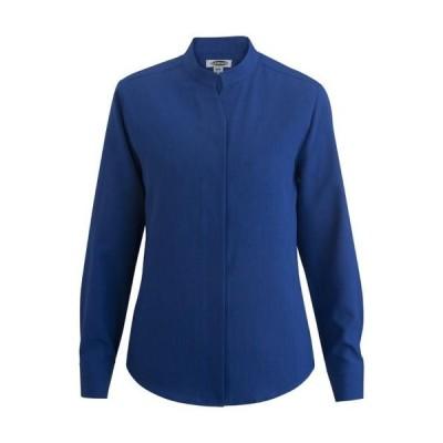 レディース 衣類 トップス Edwards Women's Stand-Up Collar Shirt ブラウス&シャツ