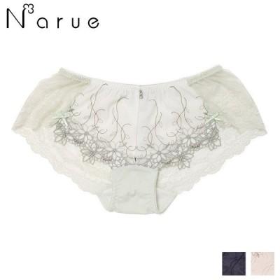 ナルエー narue プリエール バックレースショーツ 全3色 M 21-18112