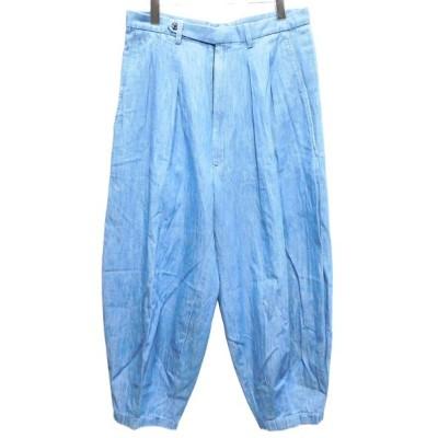 M's braque タックパンツ ブルー サイズ:40 (自由が丘店) 200429