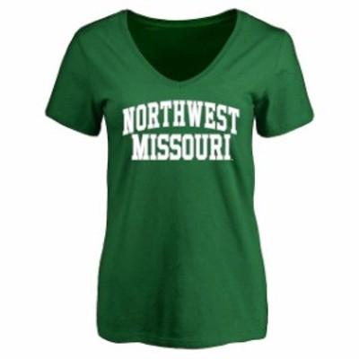Fanatics Branded ファナティクス ブランド スポーツ用品  Northwest Missouri State Bearcats Womens Kelly Green Eve