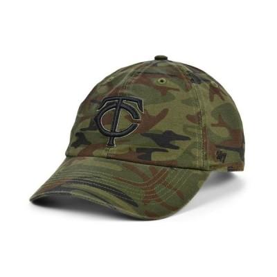 47ブランド メンズ 帽子 アクセサリー Minnesota Twins Regiment CLEAN UP Cap