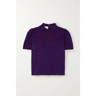 グッチ Gucci レディース ニット・セーター トップス wool-jacquard sweater
