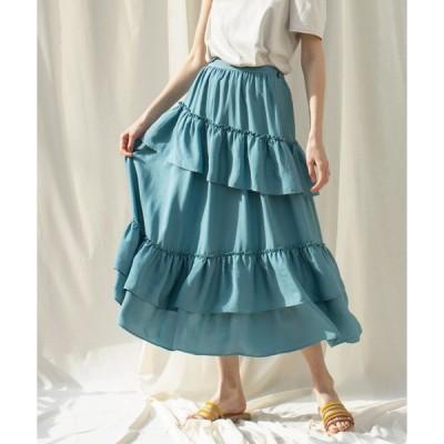 スカート VINTAGE LONG SK / ヴィンテージロングスカート