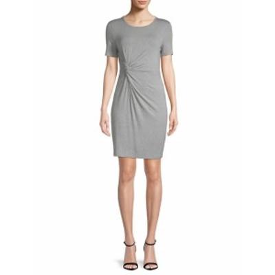 リー&ヴィオラ レディース ワンピース Knotted T-Shirt Dress