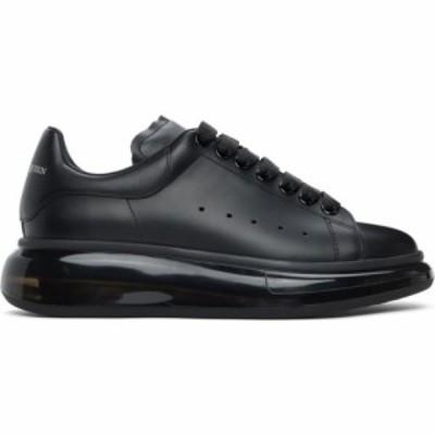 アレキサンダー マックイーン Alexander McQueen メンズ スニーカー シューズ・靴 Black Transparent Sole Oversized Sneakers Black