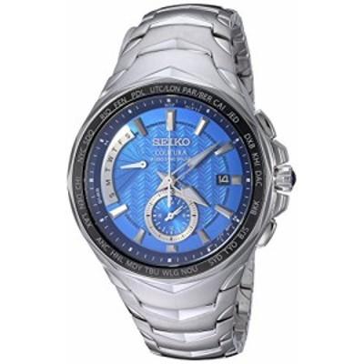 腕時計 セイコー メンズ Seiko Men's COUTURA Japanese-Quartz Watch with Stainless-Steel Strap, Silver,