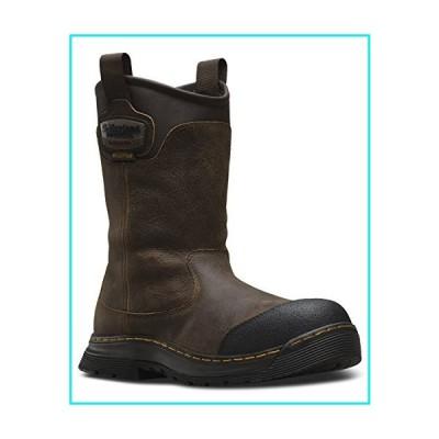 Dr. Martens Work Rush Electrical Hazard Waterproof Composite Toe Rigger Boot Brown Crisscross Waterproof UK 7 (US Men's 8, US Women's 9)【並行輸