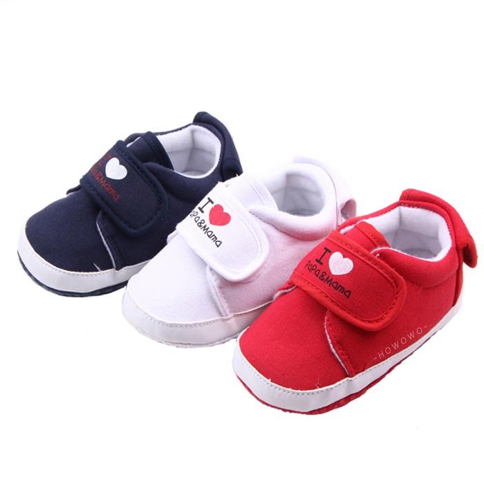 軟底學步鞋 Mama&Papa 防滑寶寶鞋 嬰兒鞋(11-13cm)  MIY1526 好娃娃