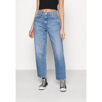 ペペジーンズ レディース デニムパンツ ボトムス DOVER - Straight leg jeans - blue denim blue denim