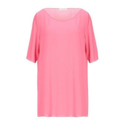 LE TRICOT PERUGIA Tシャツ  レディースファッション  トップス  Tシャツ、カットソー  半袖 ピンク