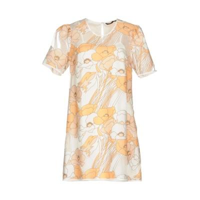 シルビアンヒーチ SILVIAN HEACH ミニワンピース&ドレス あんず色 XS ポリエステル 100% ミニワンピース&ドレス