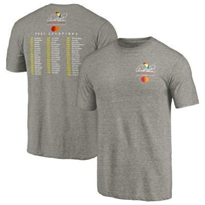 ファナティクス ブランデッド メンズ Tシャツ トップス Arnold Palmer Invitational Fanatics Branded Past Champs Tri-Blend T-Shirt