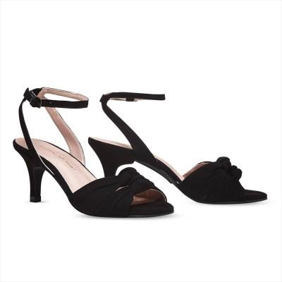 Black Twirl / Stiletto 7cm(38)