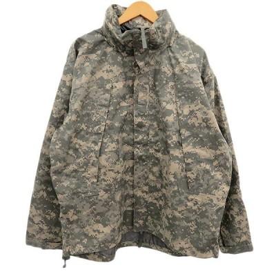 US ARMY Level6 デジタル迷彩柄ECWCジャケット カーキ サイズ:M (明石店) 200216