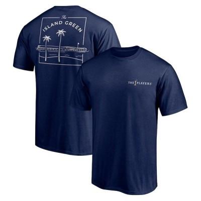 ファナティクス ブランデッド メンズ Tシャツ トップス THE PLAYERS Fanatics Branded The Island Green T-Shirt