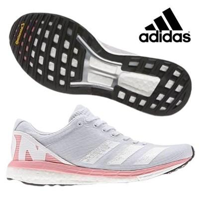アディダス adidas adizero Boston 8 w EE5147 レディース ランニングシューズ ジョギング 陸上 練習 ラントレ グレー 2020年春夏モデル