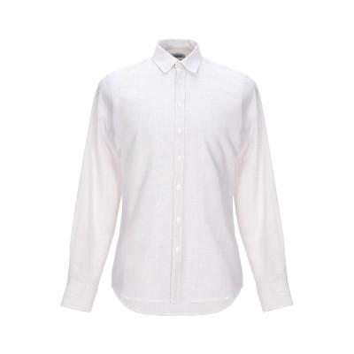 ハマキホ HAMAKI-HO シャツ ベージュ M 麻 60% / コットン 40% シャツ