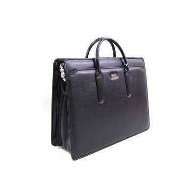 合皮ブリーフバッグ ブラック ビジネスバッグ 日本製